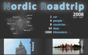 reference: Plakát - Nordic Roadtrip